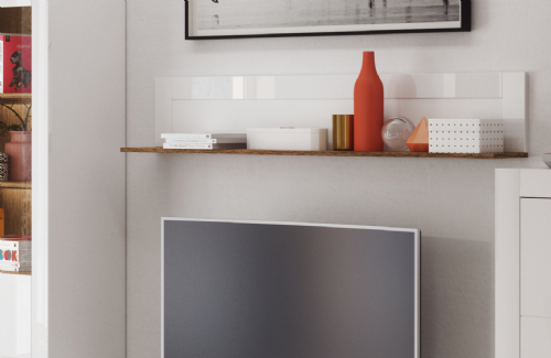 Belros Floating Shelf for Wall B35 - 2666